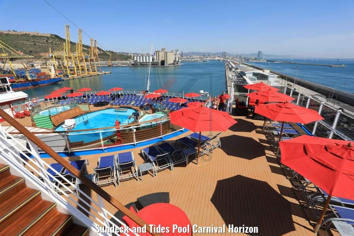 Sundeck and Tides Pool Carnival Horizon