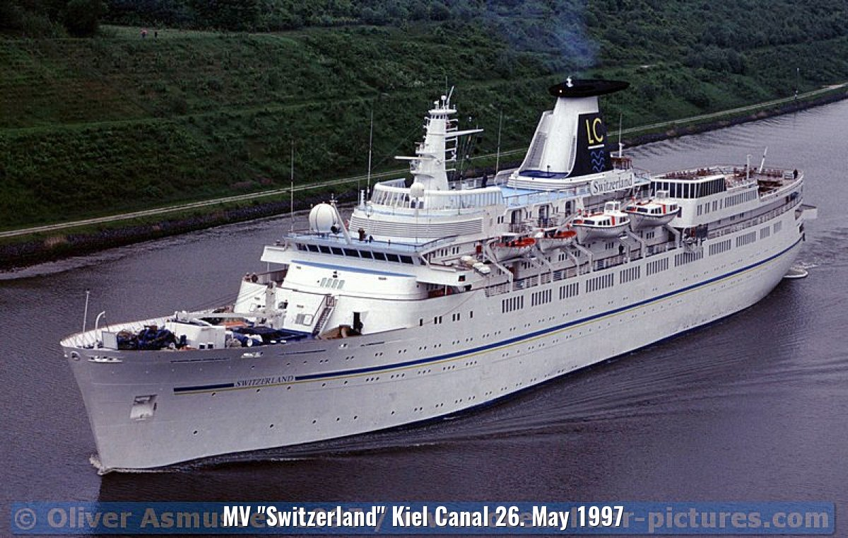 "MV ""Switzerland"" Kiel Canal 26. May 1997"