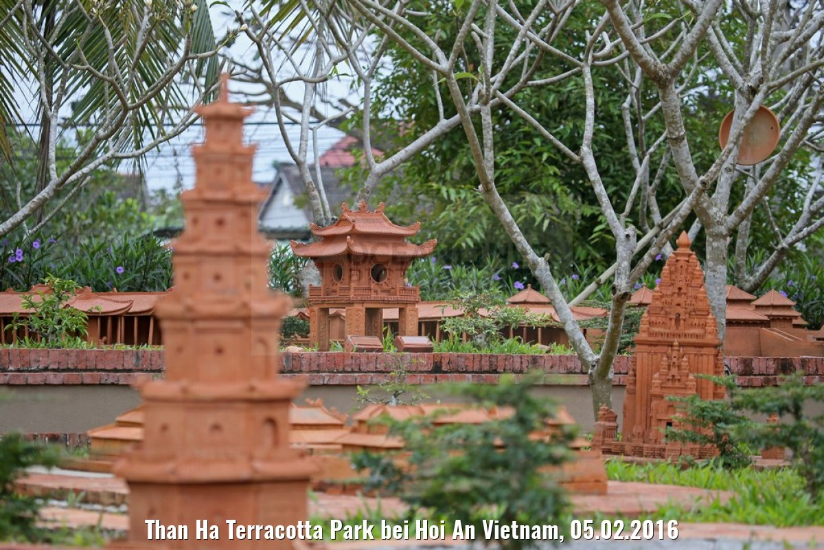Than Ha Terracotta Park bei Hoi An Vietnam, 05.02.2016