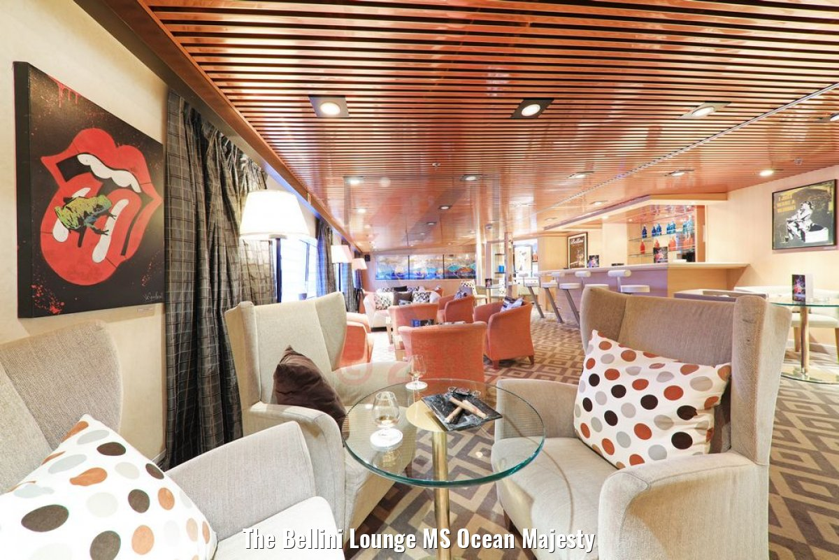 The Bellini Lounge MS Ocean Majesty