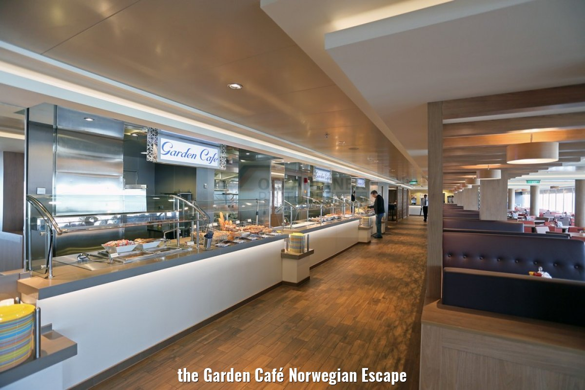 the Garden Café Norwegian Escape