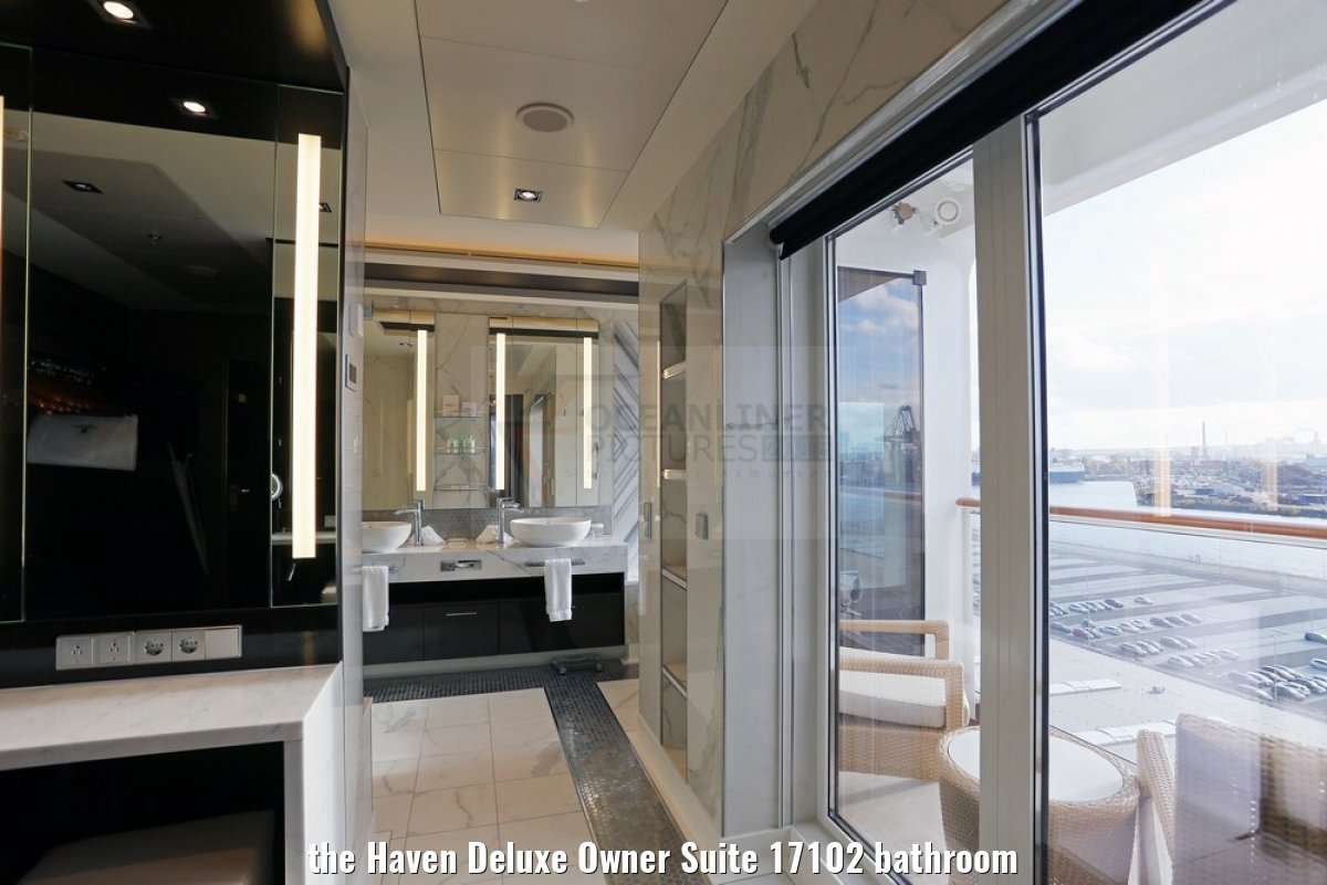 the Haven Deluxe Owner Suite 17102 bathroom