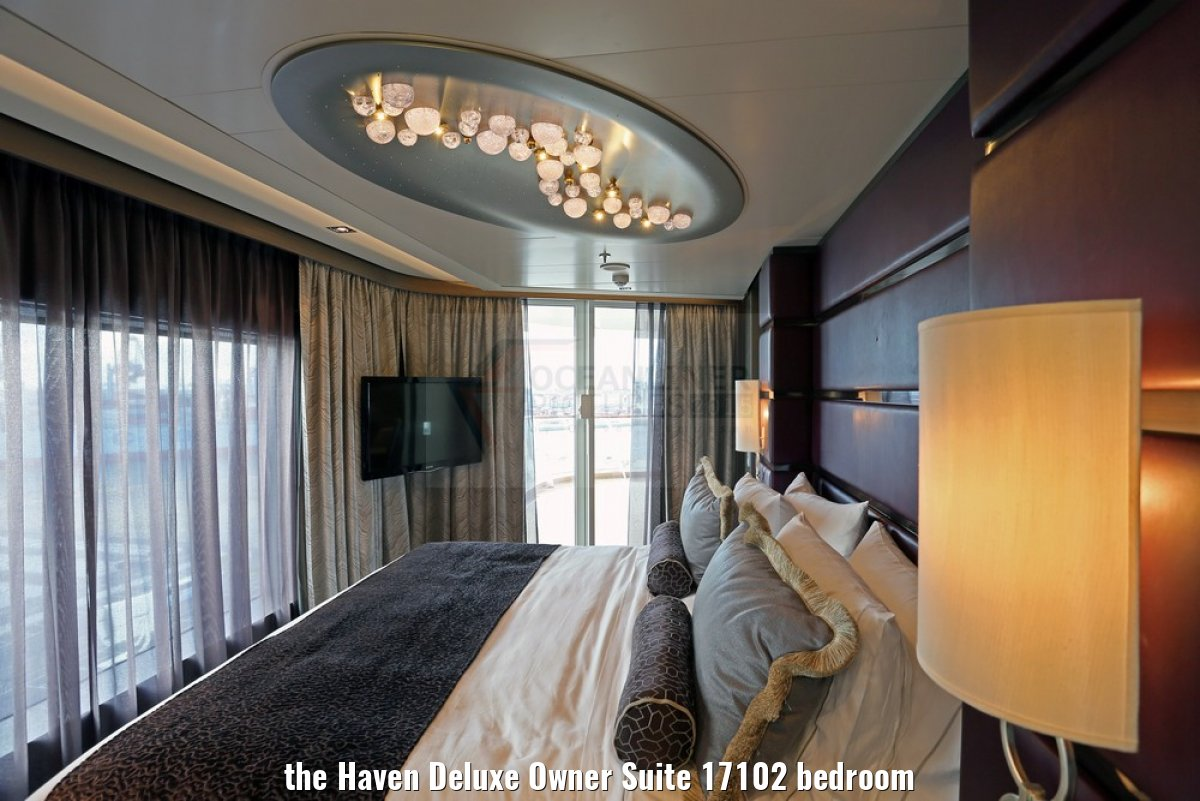 the Haven Deluxe Owner Suite 17102 bedroom