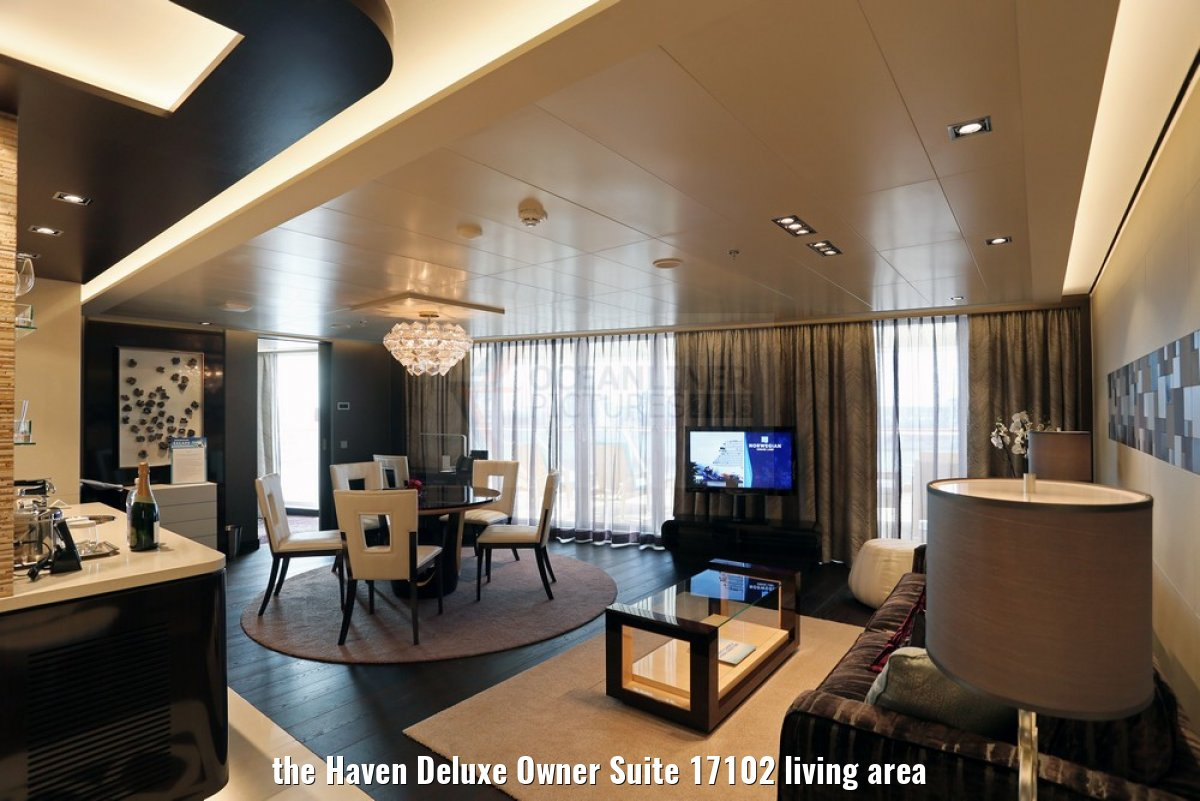 the Haven Deluxe Owner Suite 17102 living area