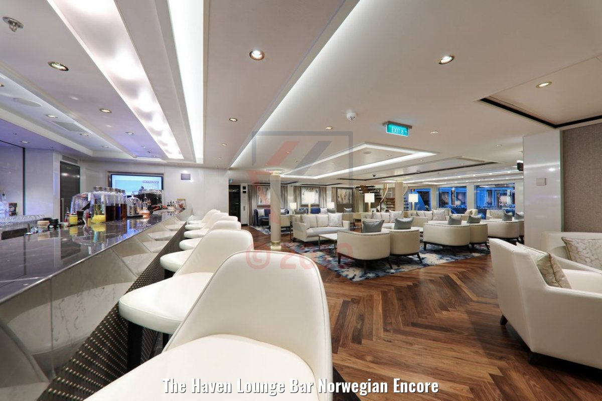 The Haven Lounge Bar Norwegian Encore