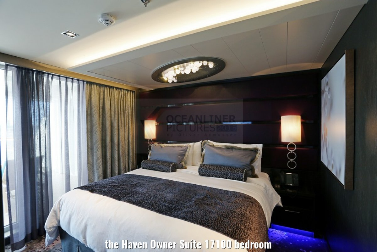 the Haven Owner Suite 17100 bedroom