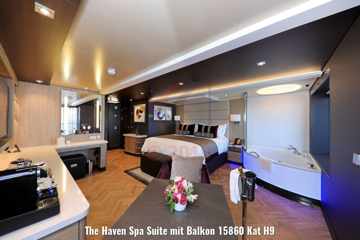 The Haven Spa Suite mit Balkon 15860 Kat H9