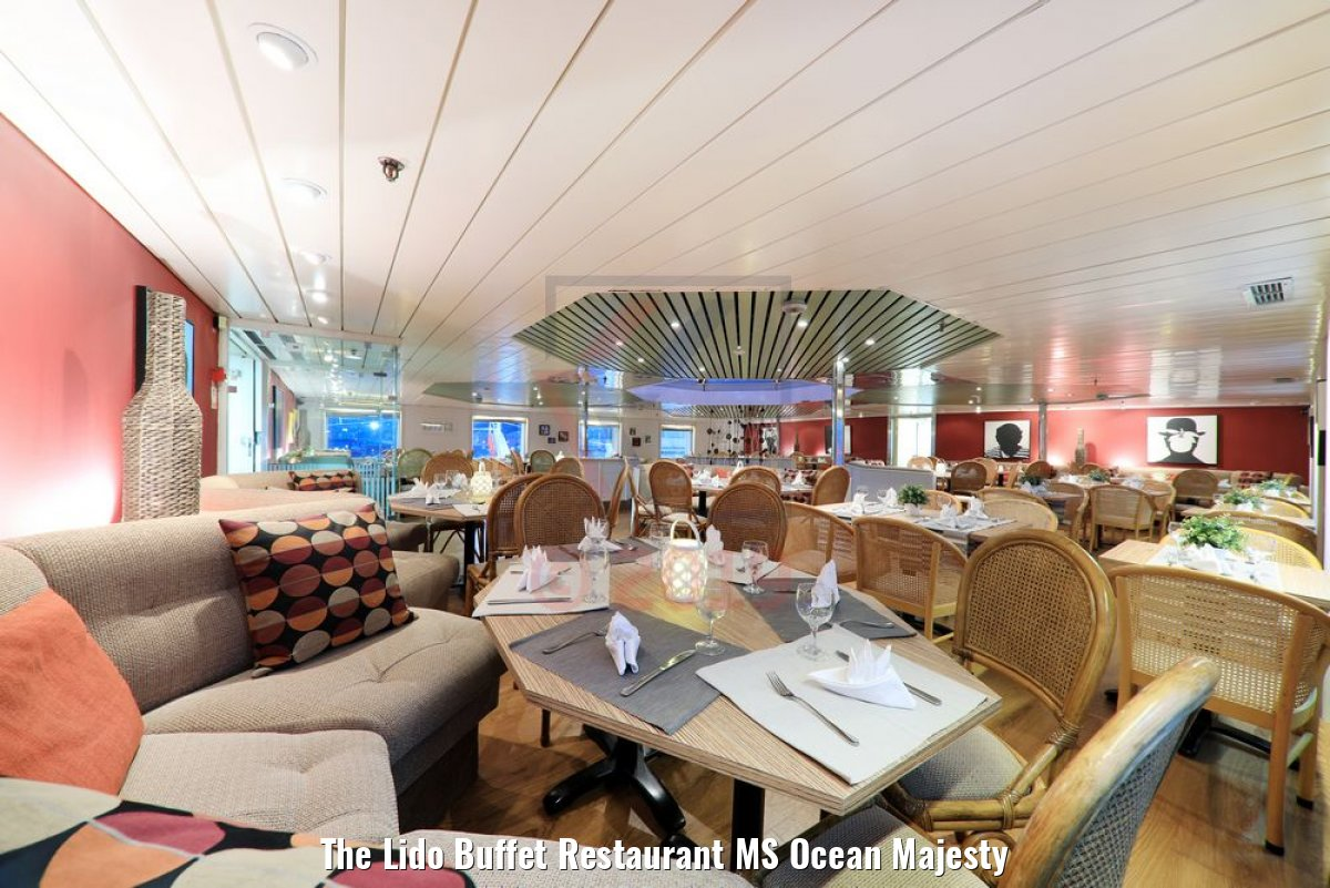 The Lido Buffet Restaurant MS Ocean Majesty