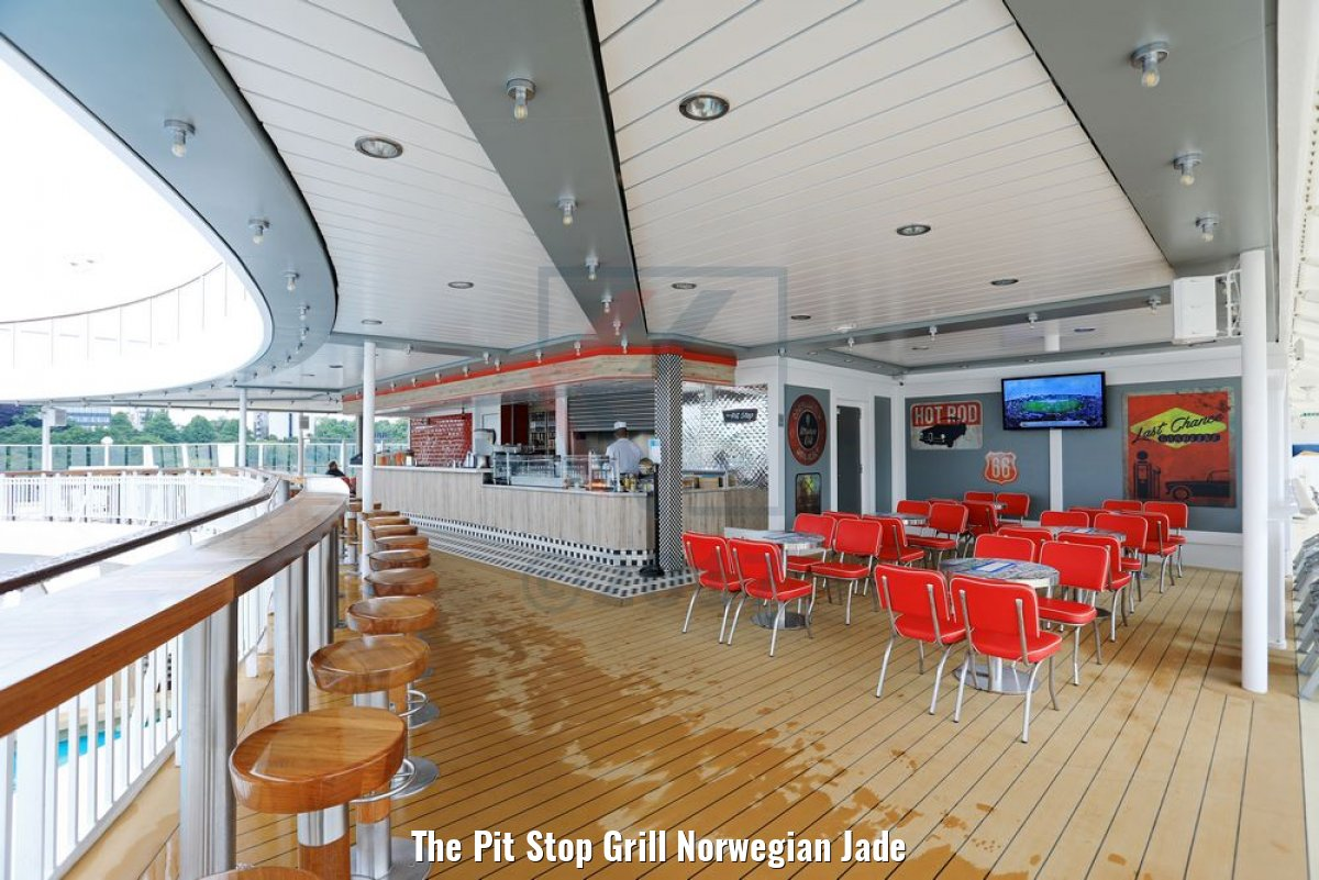 The Pit Stop Grill Norwegian Jade