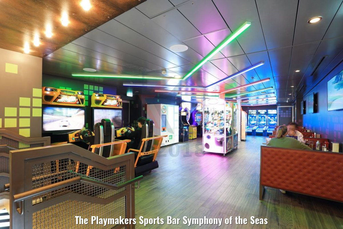 The Playmakers Sports Bar Symphony of the Seas