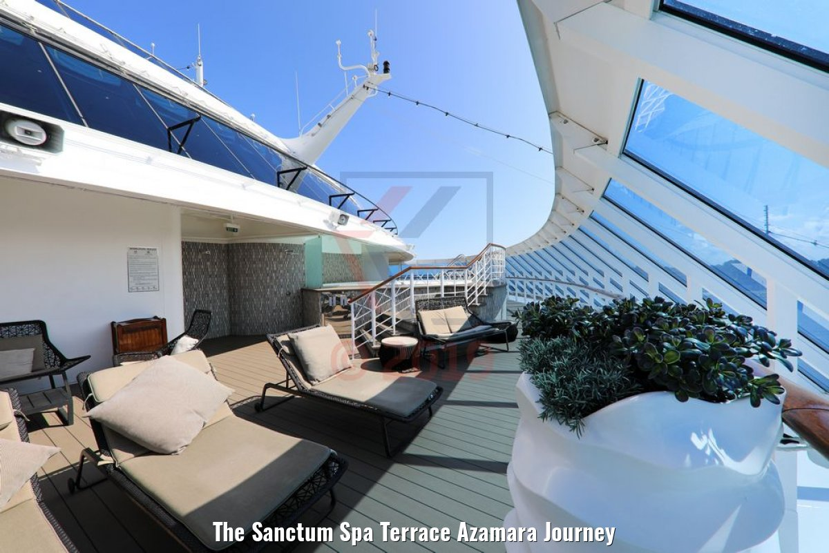 The Sanctum Spa Terrace Azamara Journey