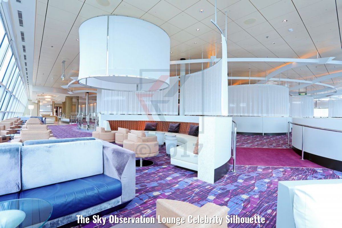 The Sky Observation Lounge Celebrity Silhouette