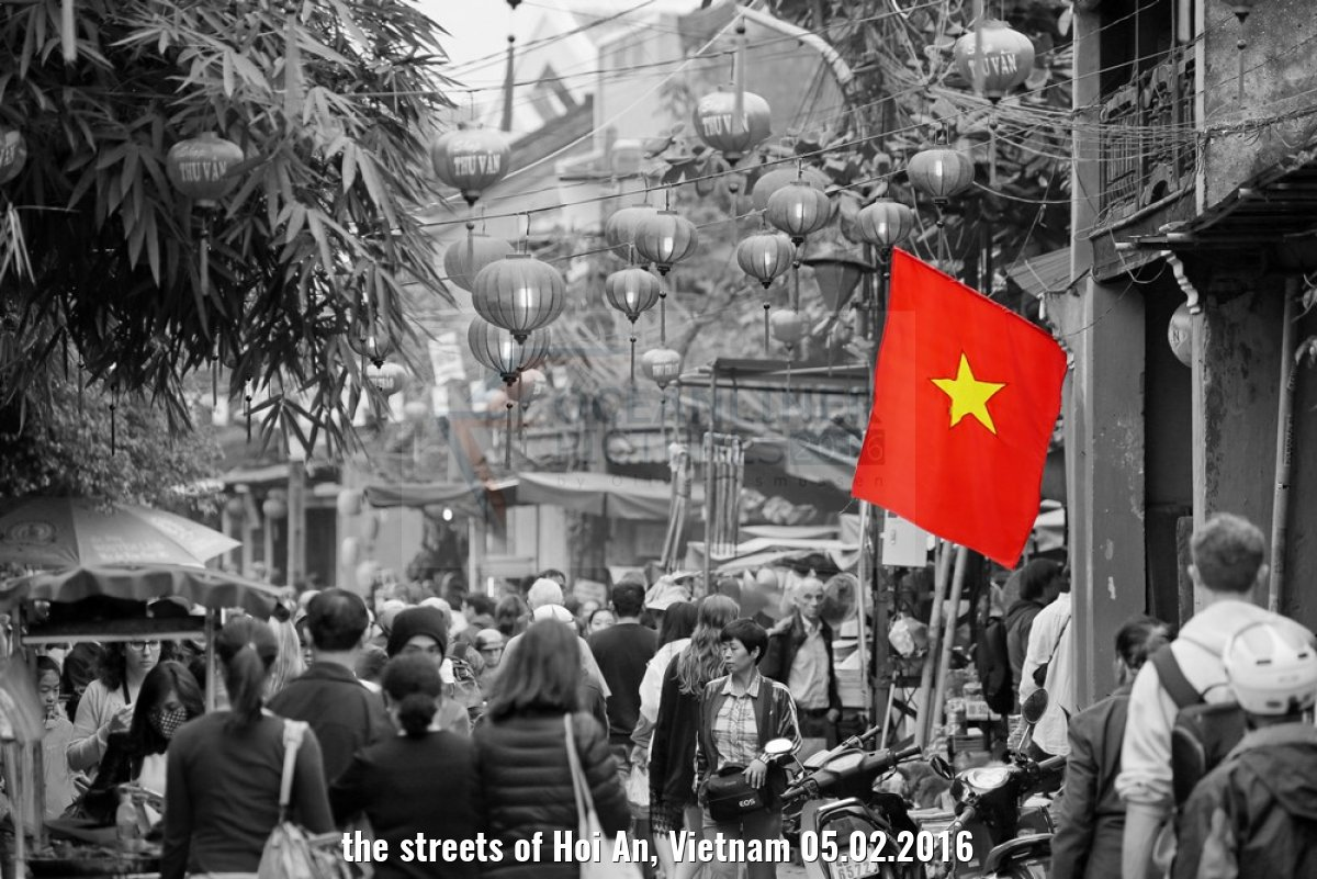 the streets of Hoi An, Vietnam 05.02.2016