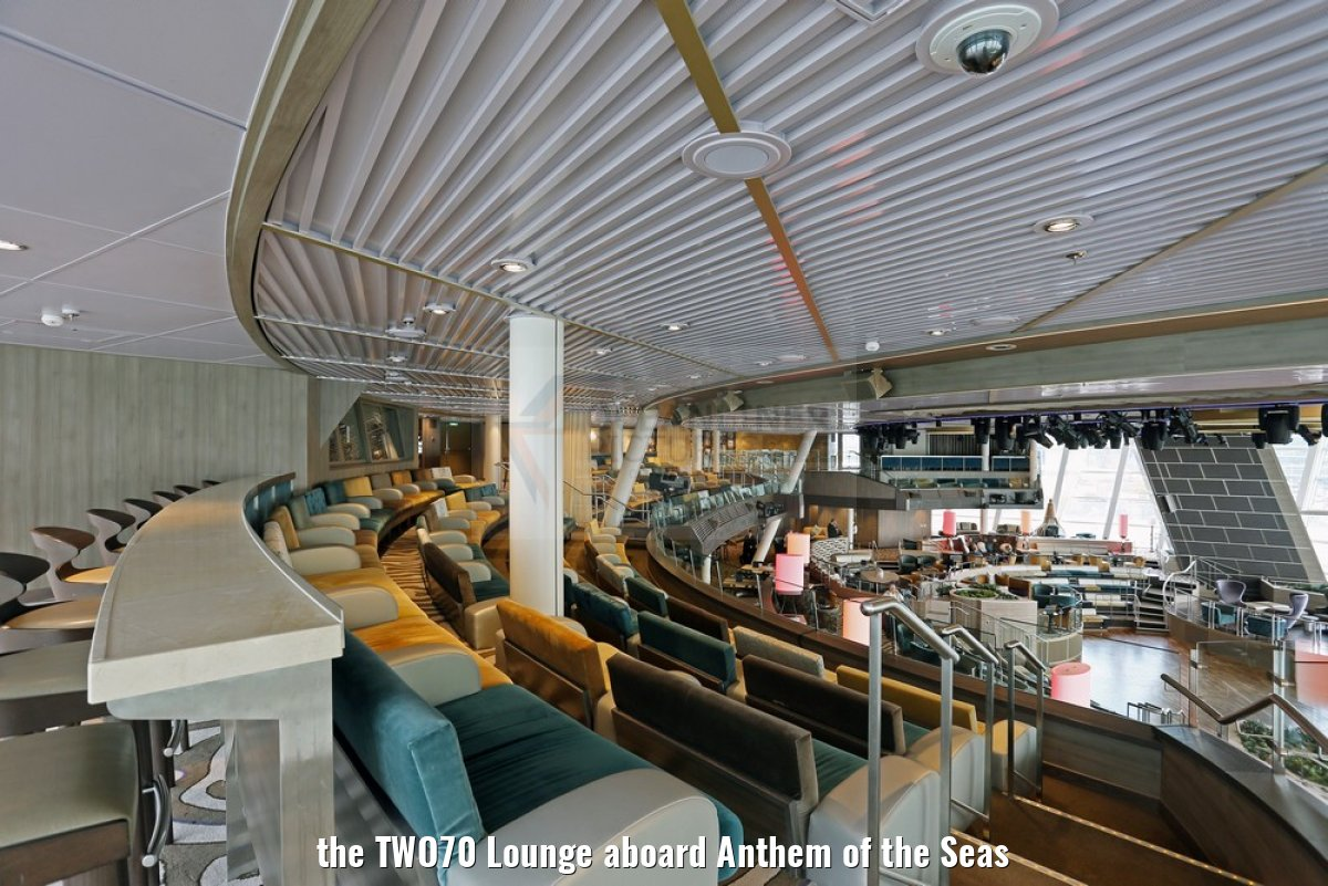 the TWO70 Lounge aboard Anthem of the Seas