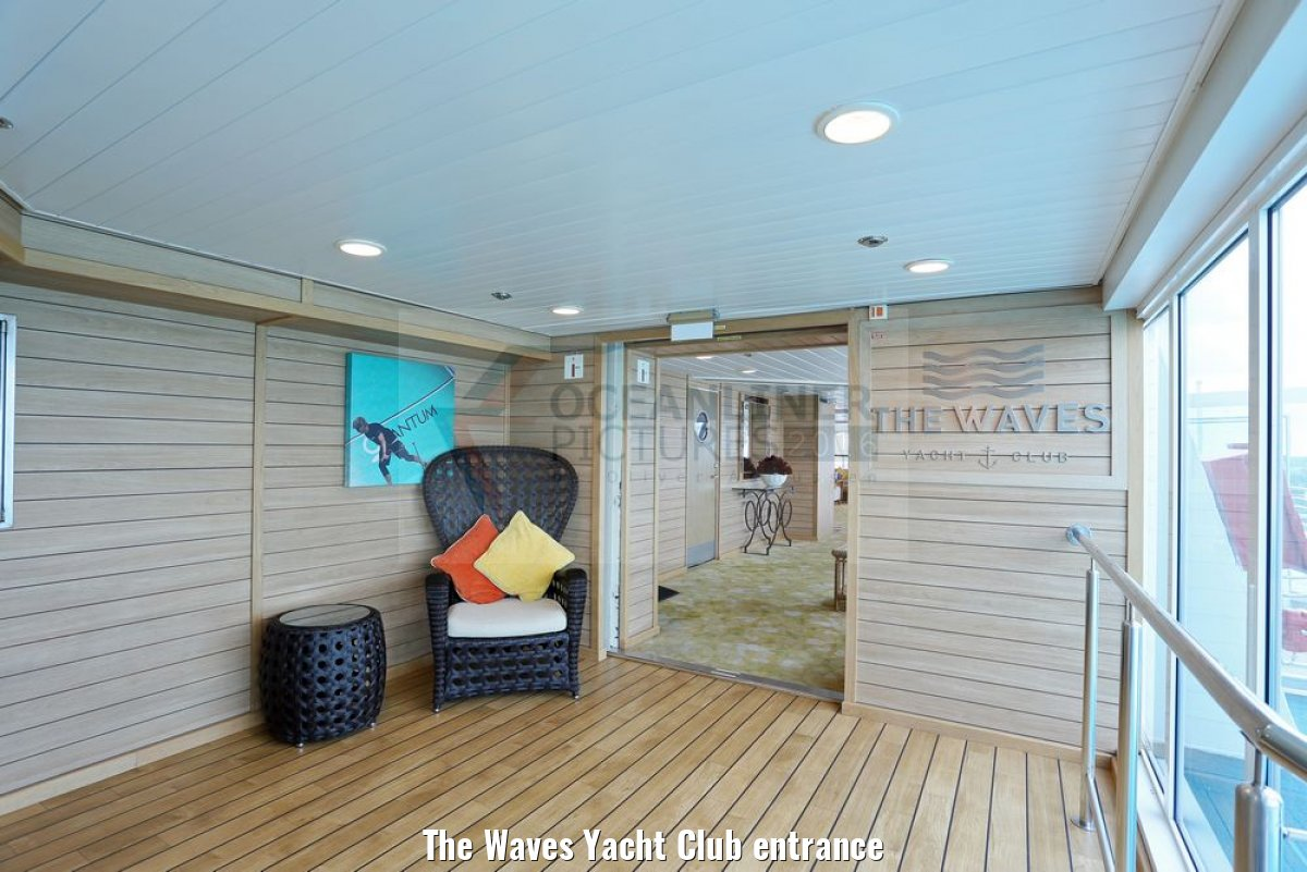 The Waves Yacht Club entrance