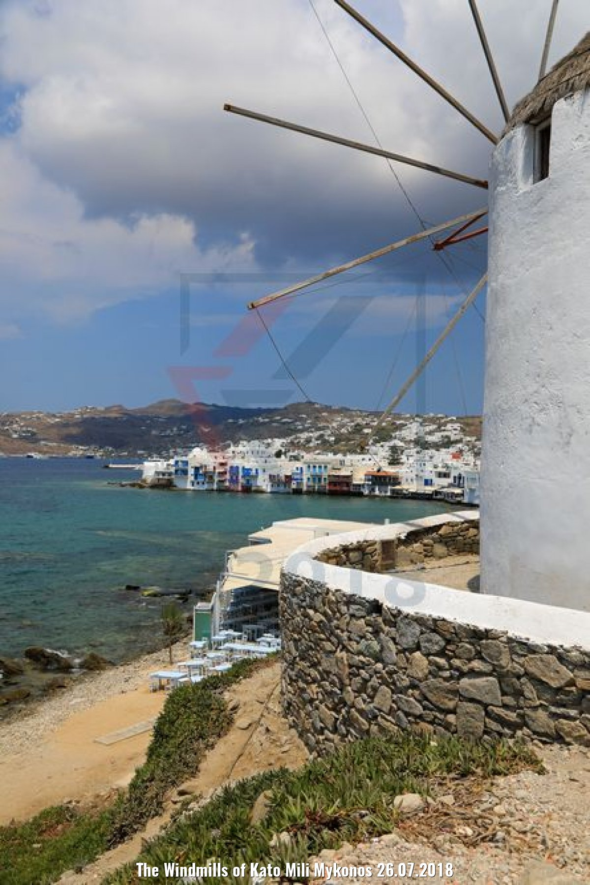 The Windmills of Kato Mili Mykonos 26.07.2018