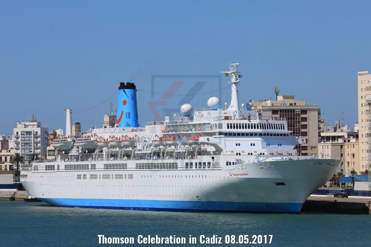 Thomson Celebration in Cadiz 08.05.2017