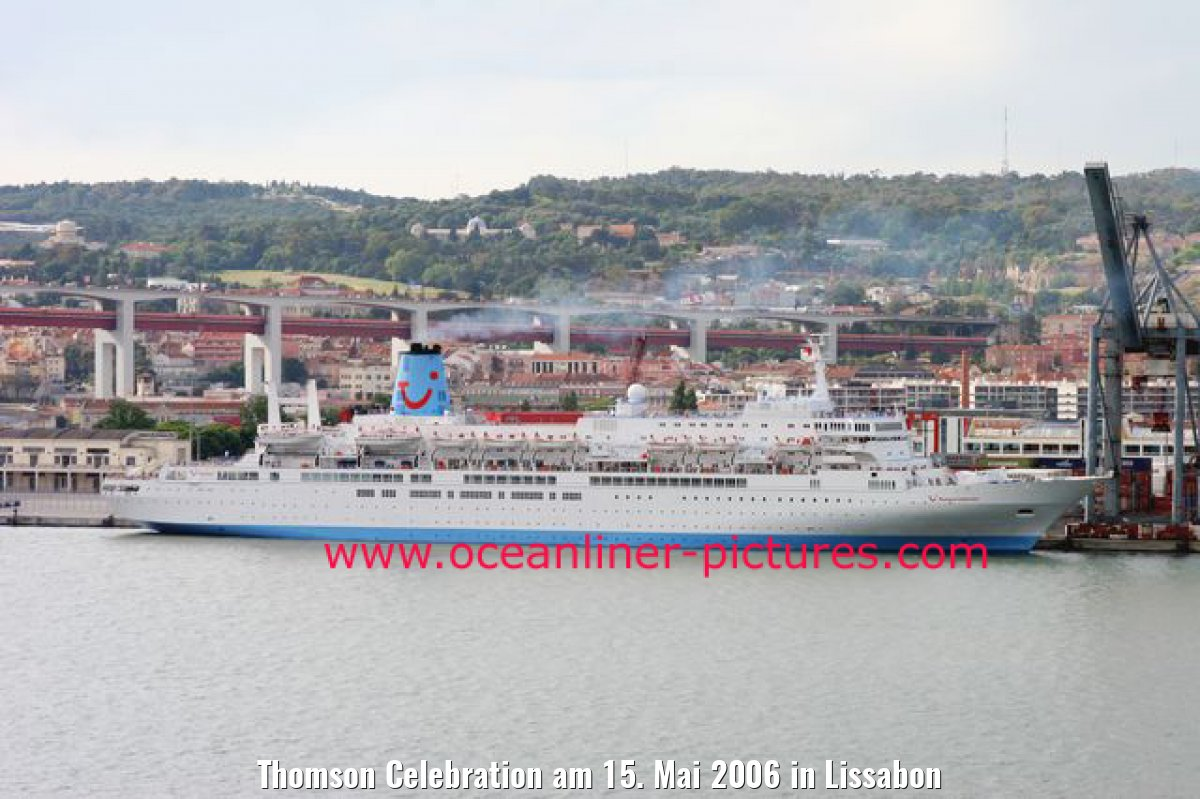Thomson Celebration am 15. Mai 2006 in Lissabon
