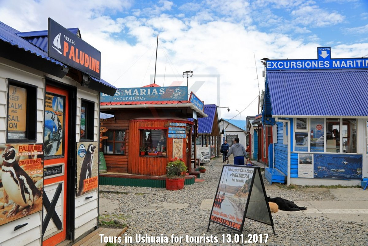 Tours in Ushuaia for tourists 13.01.2017