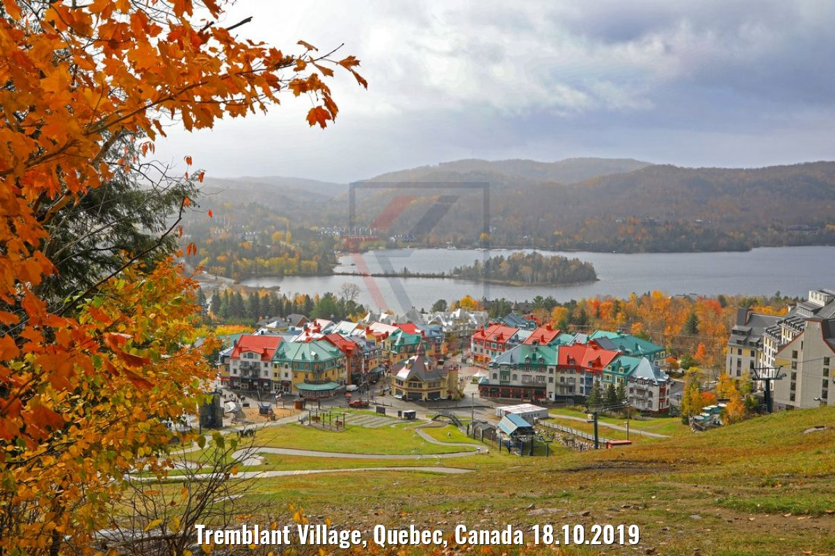 Tremblant Village, Quebec, Canada 18.10.2019