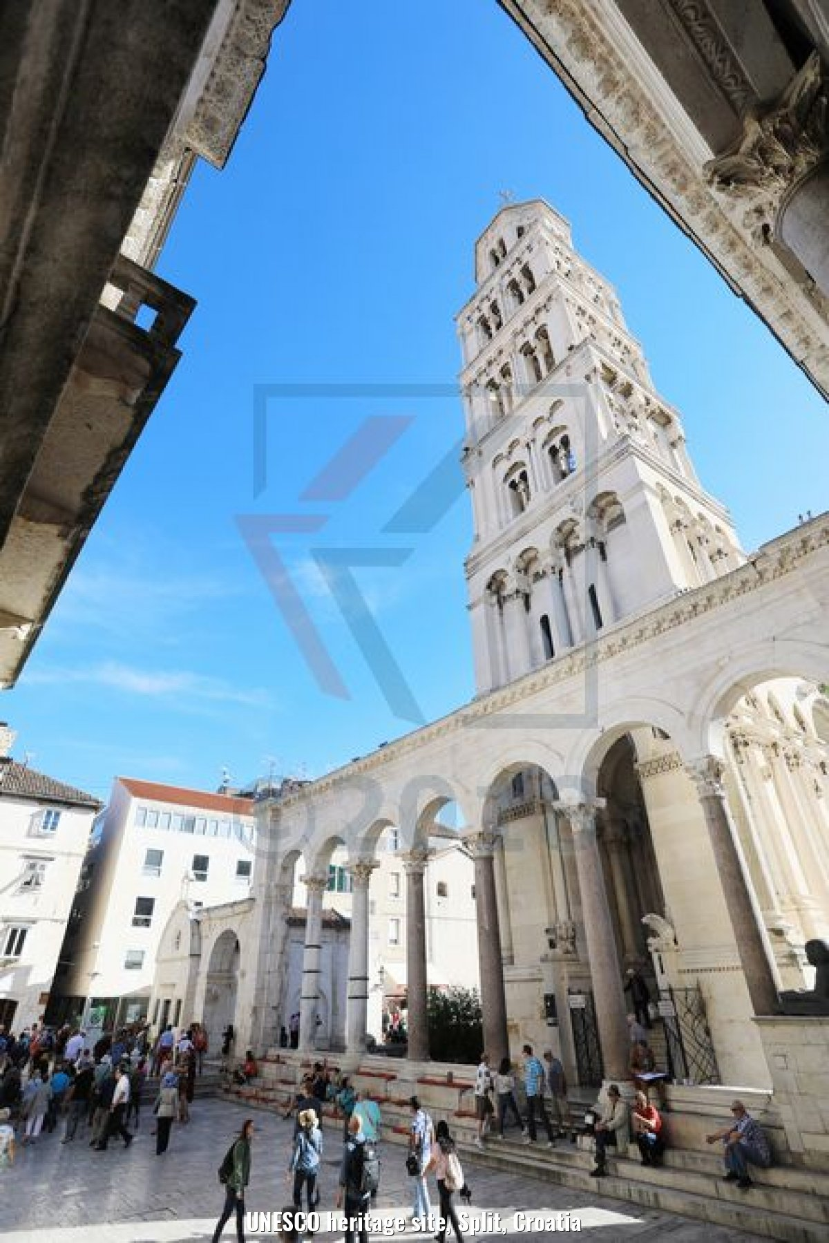 UNESCO heritage site, Split, Croatia