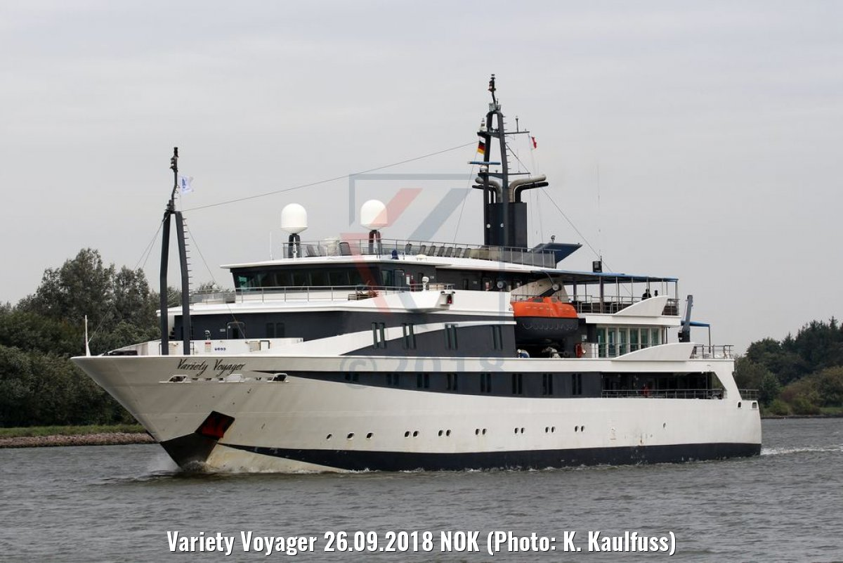 Variety Voyager 26.09.2018 NOK (Photo: K. Kaulfuss)