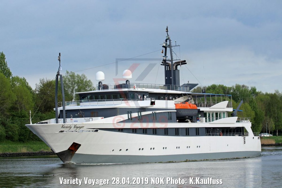 Variety Voyager 28.04.2019 NOK Photo: K.Kaulfuss