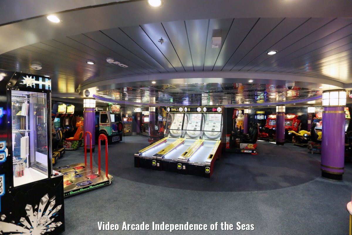 Video Arcade Independence of the Seas