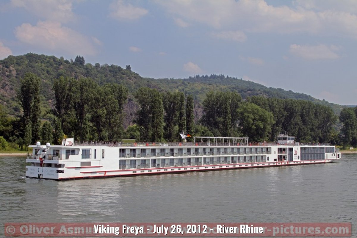 Viking Freya - July 26, 2012 - River Rhine