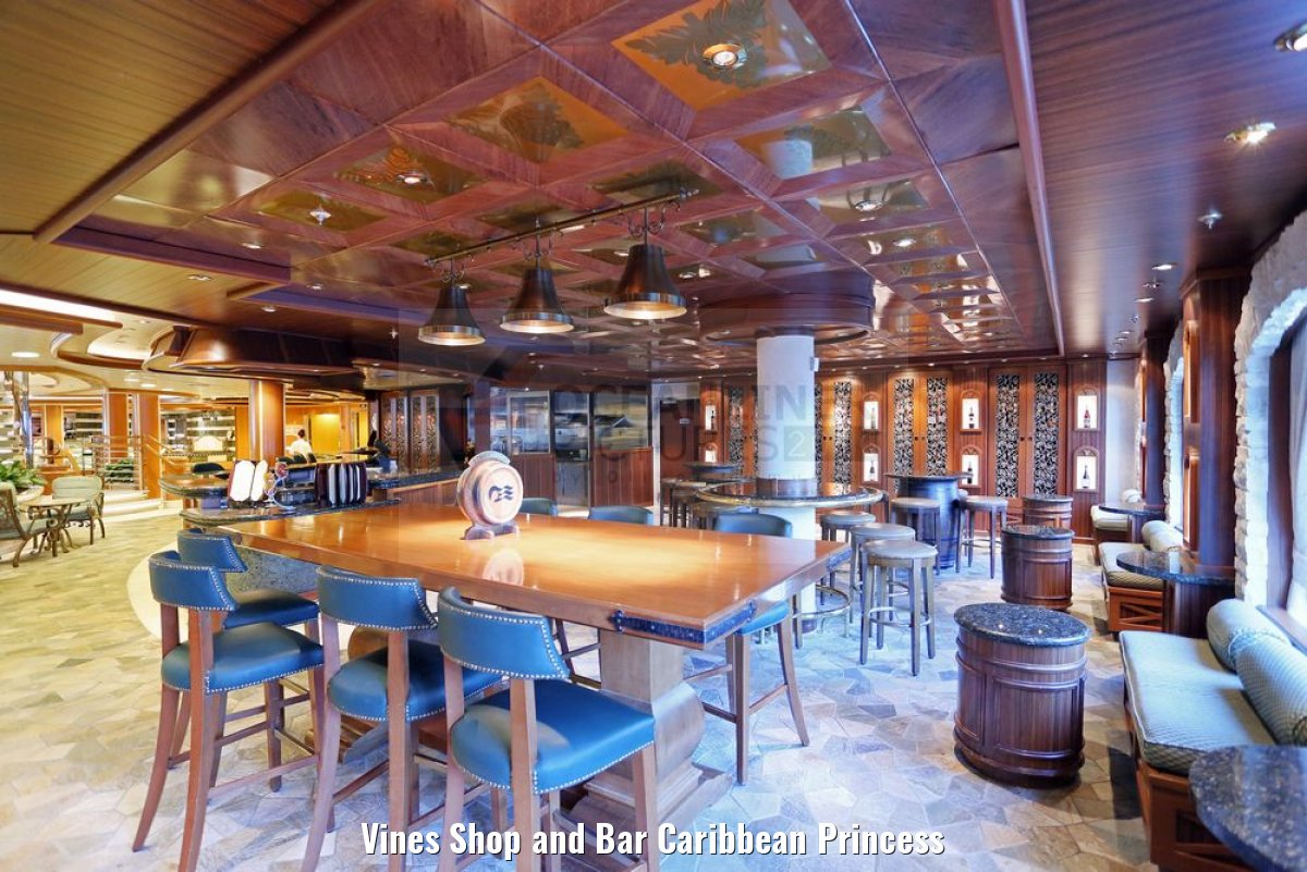 Vines Shop and Bar Caribbean Princess