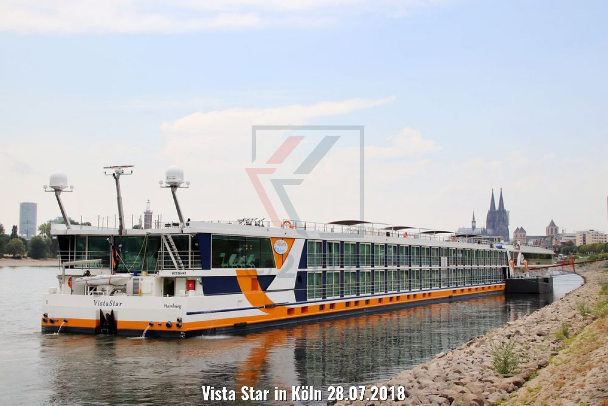 Vista Star in Köln 28.07.2018
