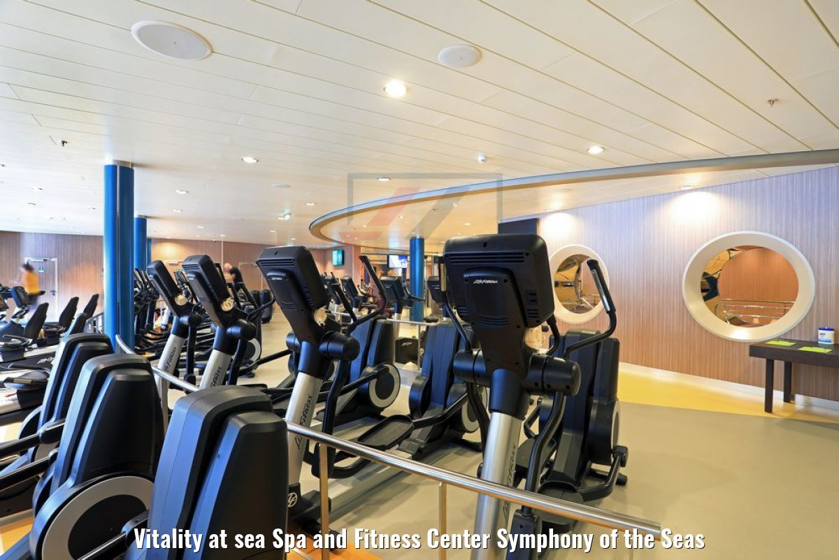 Vitality at sea Spa and Fitness Center Symphony of the Seas