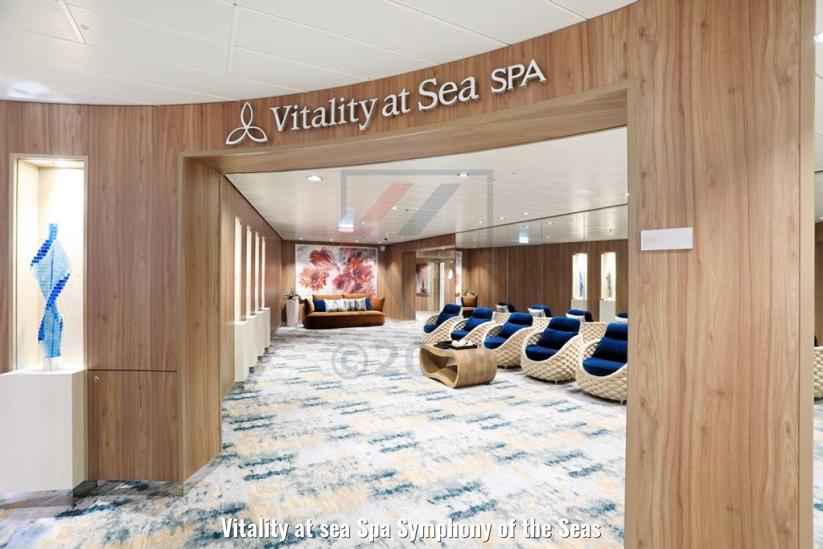 Vitality at sea Spa Symphony of the Seas