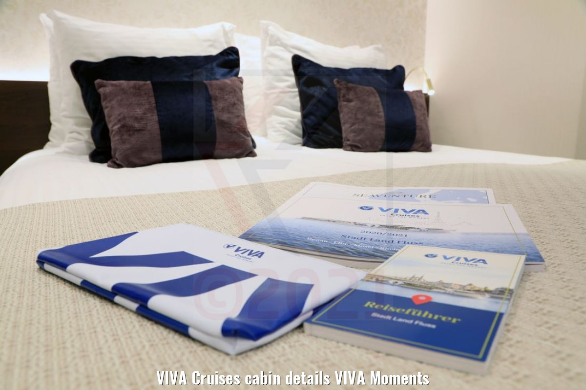 VIVA Cruises cabin details VIVA Moments