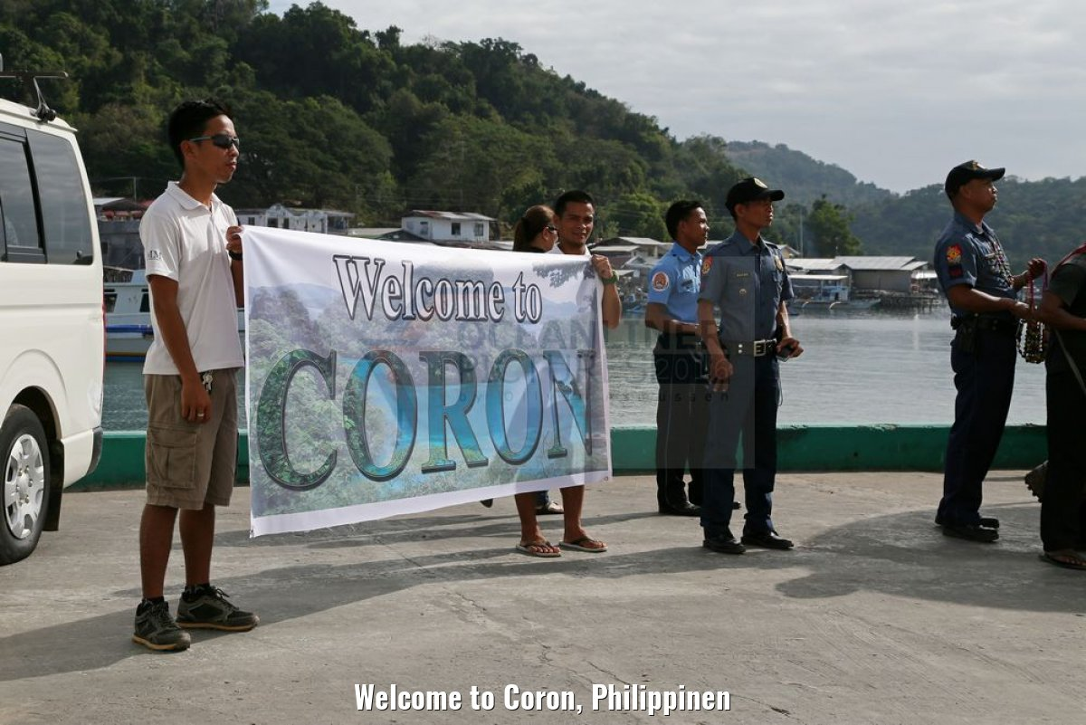 Welcome to Coron, Philippinen