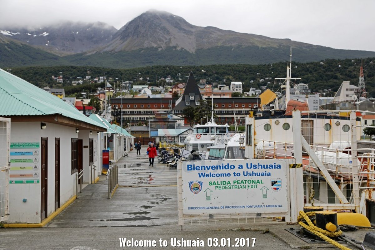 Welcome to Ushuaia 03.01.2017