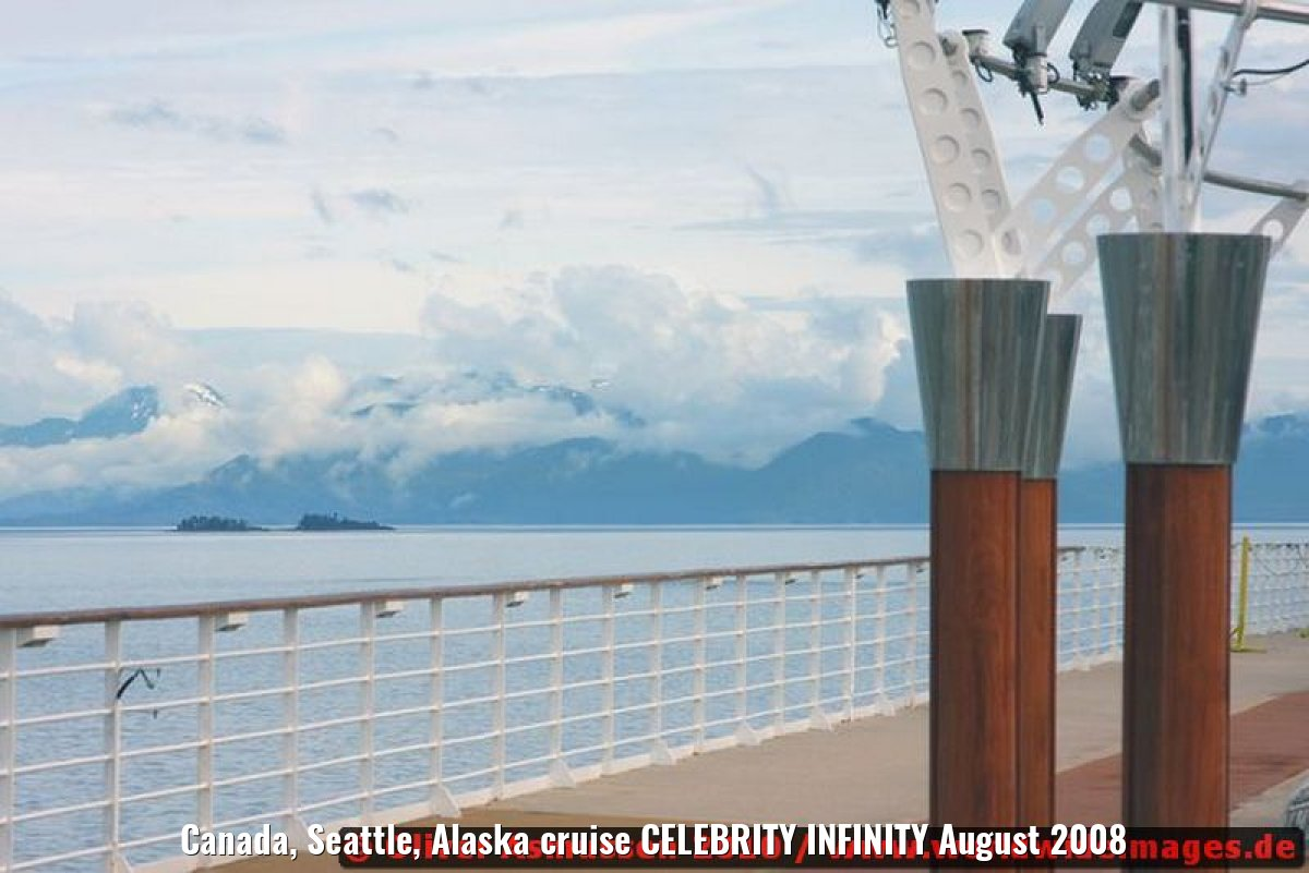Canada, Seattle, Alaska cruise CELEBRITY INFINITY August 2008