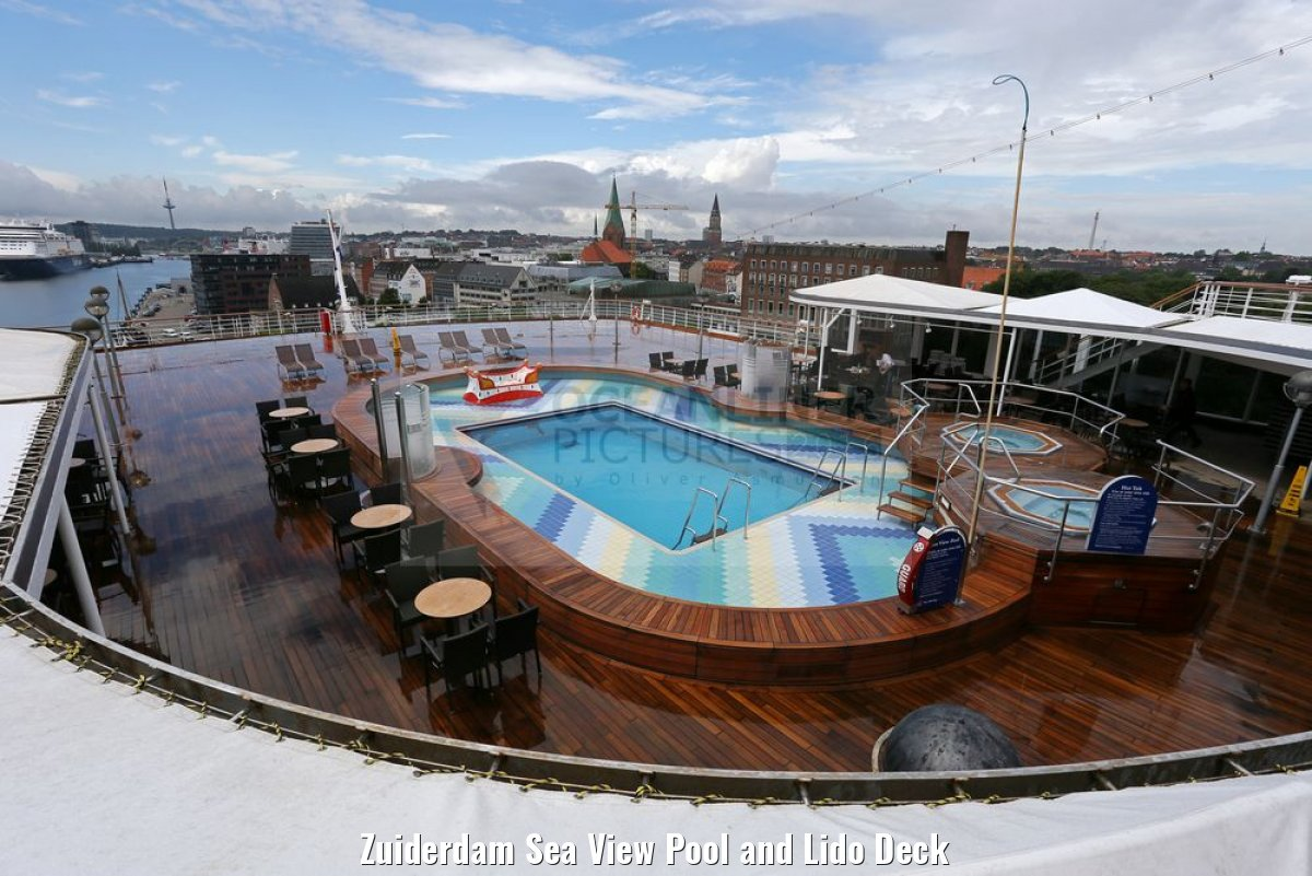 Zuiderdam Sea View Pool and Lido Deck